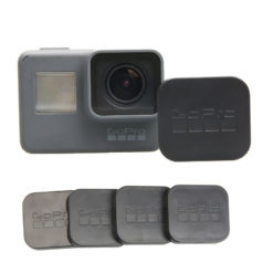 New-2016-GoPro-5-Accessories-Lens-Cap-Cover-caps-Standard-Protector-With-Logo-For-Go-pro